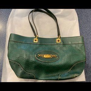 Gucci Guccissima Small Leather Tote
